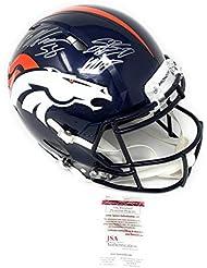Von Miller Denver Broncos Signed Autograph Speed Full Size Authentic Proline  Helmet SB 50 MVP INSCRIBED 520dae420