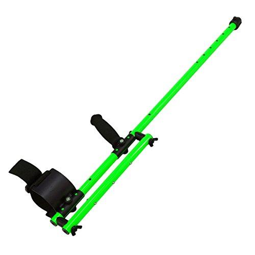 Anderson minelab Excalibur - Detector de metales más bajo eje de aluminio verde: Amazon.es: Jardín