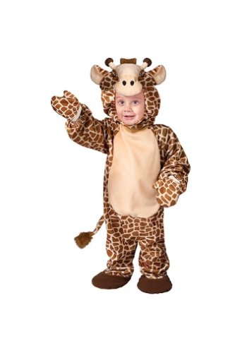 Fun World Costumes Baby's Jolly Giraffe Infant Costume, Brown/White, Small