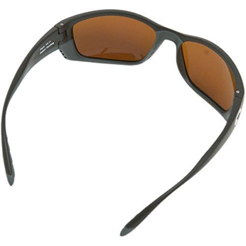 Costa Del Mar Fisch Sunglasses, Black, Green Mirror 580Glass Lens by Costa Del Mar (Image #3)