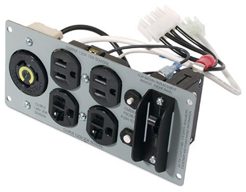 Backplate Power American Conversion (APC SU029RM2U 2200VA USB 120V RM 2U Smart UPS)