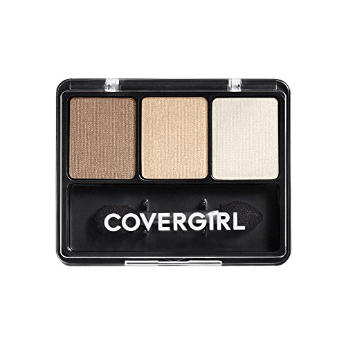 CoverGirl Eye Enhancers 3 Kit Shadow, Cafe Au Lait 105, 0.14 Ounce (0.14 Ounce Shadow)