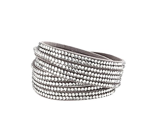 Pure Acoustics New Wrapped Bracelets with Crystals