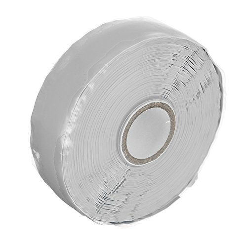 EsportsMJJ 25mmx11m Self Fusing Silicone Tapes Emergency Repair Insulation Waterproof Tape Gray