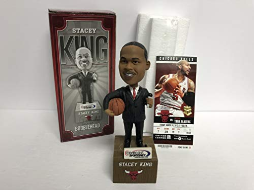 (Stacey King Chicago Bulls TALKING Bobblehead SGA)