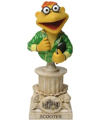 Scooter Muppet Show Bust from Sideshow - Muppets Scooter
