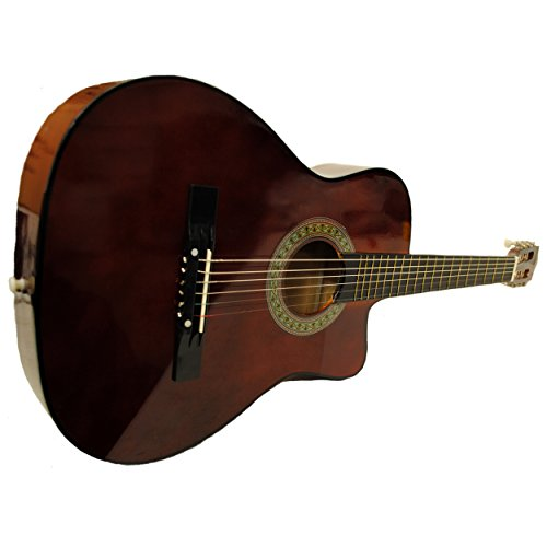 full-size-acoustic-country-bluegrass-cutaway-guitar-with-gig-bag-walnut