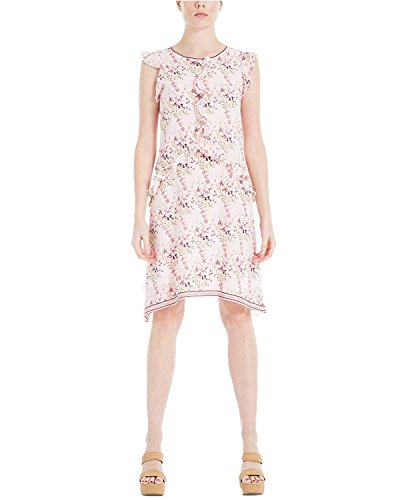 MAXSTUDIO Max Studio London Women's Ruffled Floral-Print Dress (Medium, - London Studio 5
