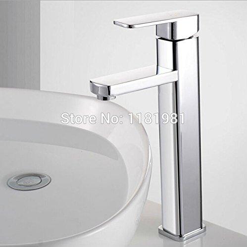 U-Enjoy Höhe Keramische Platten-Top-Qualität Spool Badezimmer Einhand-Haus Badezimmer Küche-Wannen-Hahn [Kostenloser Versand]