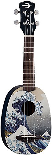 Luna Artistic Series Great Wave Soprano Ukulele