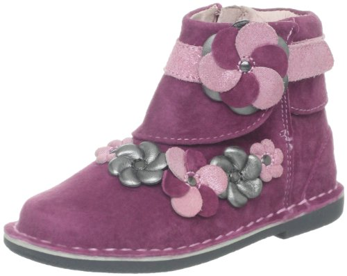 Stride Rite Medallion Collection Milania Boot (Toddler/Little Kid),Pink,9.5 M US Toddler