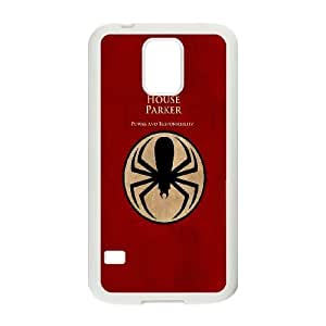 Samsung Galaxy S5 Cell Phone Case White Spiderman House Parker LSO7780005