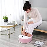 Foot Spa Bath Massager with Heat Bubbles Vibration