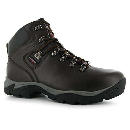 Karrimor - Zapatillas de senderismo de Piel para hombre marrón marrón Marrón - marrón