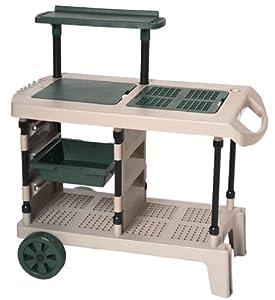 Amazoncom Suncast GB3000 Gardening Bench Outdoor Storage