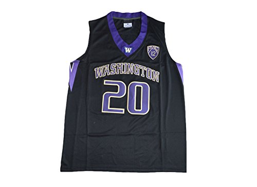 ge Basketball Stitched Jersey Black (L) (L) (Authentic College Basketball Jerseys)