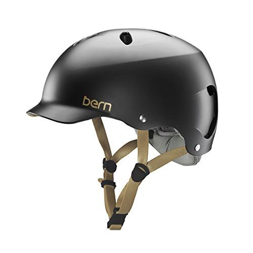 Bern Unlimited Lenox EPS Helmet (Satin Black, Small)