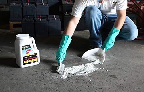 XSORB Acid Neutralizing Absorbent Bottle 6 qt. (Case of 2)