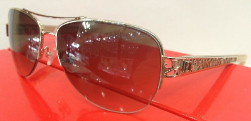 (SAKS FIFTH AVENUE Sunglasses 81S 03Yg Light Gold 57MM)