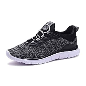 COODO Boy's Lightweight Breathable Sneakers Easy walk Casual Sport Shoes