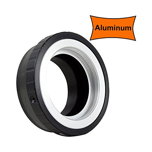 MENGS M42-NX Lens Mount Adapter Aluminum Alloy M42 Mount Lens to Samsung NX Mount Mirrorless Camera
