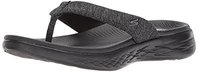Skechers Australia ON-The-GO 600 - Preferred Women's Sandal, Black/Black, 6 US
