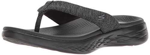 Skechers Performance Women's on-the-Go 600-15304 Flip-Flop, black, 8 M US