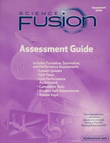 amazon com sciencefusion assessment guide grade 3 9780547593159 rh amazon com Harcourt Science Grade 6 2009 Harcourt Science Textbook 6th Grade