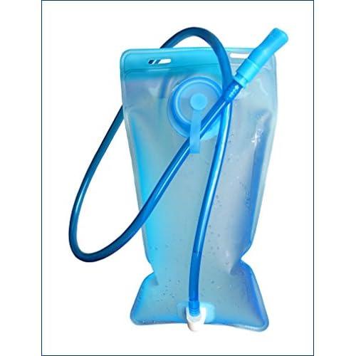 4128Wmt9qxL. SS500  - SMARTZ® Tragbare 2 Liter Trinkblase - Wasserdichte Blase für den Rucksack, antibakteriell und auslaufsicher für jeden Trinkrucksack