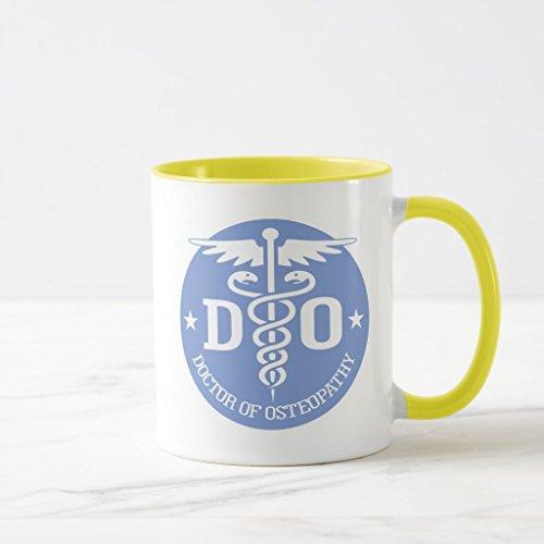 A670 Glasses (Zazzle Caduceus Do 2 Frosted Glass Beer Mug, Yellow Combo Mug 11 oz)