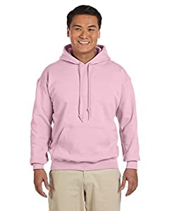 Gildan 18500 - Classic Fit Adult Hooded Sweatshirt Heavy Blend - First Quality - Light Pink - Small