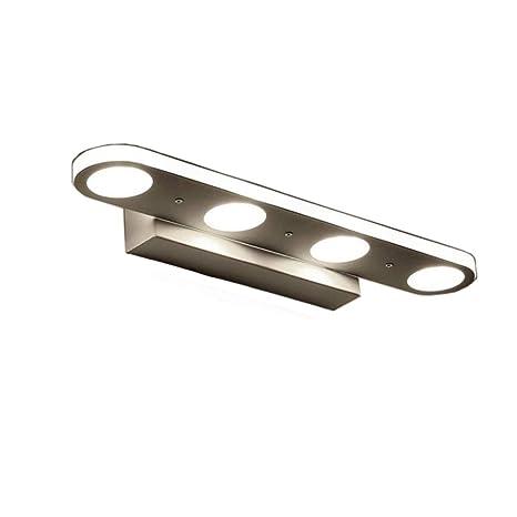 ZHMA Make-upspiegellicht 12W, LED-Acrylbad-Spiegel-Lampe,  Spiegel-Front-Verfassungs-Beleuchtung, Wand-Lampe,  Badezimmer-Licht-Bild-Frontlampe, kühles ...