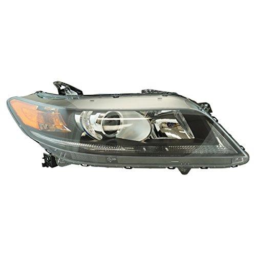 (Halogen Headlight Lamp Assembly RH Passenger Side for Honda Accord Coupe)