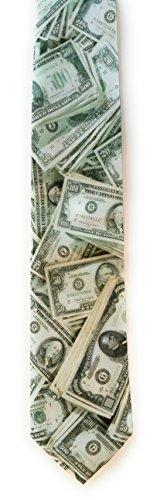 U.S. MONEY MILLION DOLLAR TIE BY RALPH MARLIN 2171 (Money Necktie)