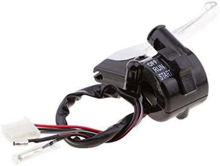 Shiwaki Palanca De Freno Agarre Cable Del Acelerador Peewee PW 50 Interruptor Para Yamaha PW50 PY50 PY