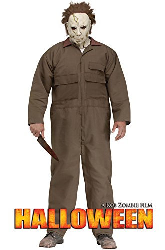[Halloween: Michael Myers Plus Size Costume] (Michael Myers Costumes For Adults)