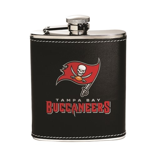 Tampa Bay Buccaneers Flask - Stainless Steel