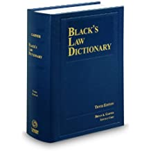 Black's Law Dictionary 10th Edition, Hardcover