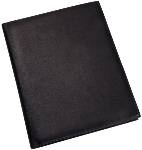 in Leather Portfolio, Black (Calfskin Portfolio)