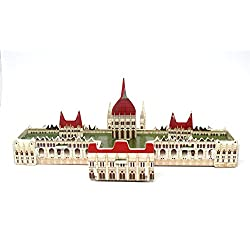 Mini 3D Puzzles Architecture The Hungarian Parliament Easy for Baby 3 Years and more Mini Size 5.1 x 2