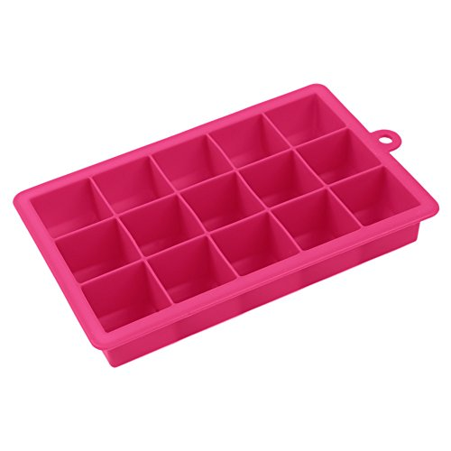 Easy Release Ice Cube Tray Silicone Candy Cupcake Liners Chocolate Molds for Hours Without Diluting it