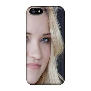 High Grade NadaAlarjane Flexible Tpu Case For Iphone 5/5s - Emily Osment Girl