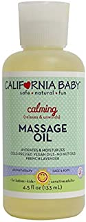 product image for California Baby Calming Massage Oil 4.5fl.(133ml)