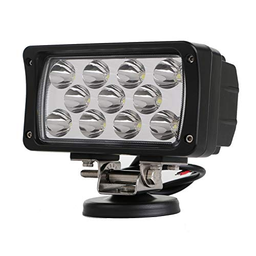 ZJP-dzsw 33W Spot Driving Fog Light Off Road Led Lights Bar Mounting Bracket for SUV Boat 4