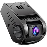 NEXGADGET Dash Cam with 170° Wide-Angle Lens, Dashboard Camera Recorder with G-Sensor, WDR, Loop Recording