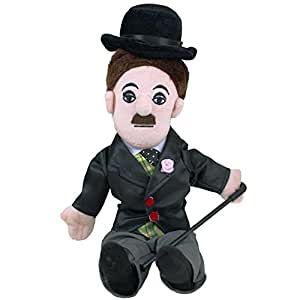 Charlie Chaplin Plush Little Thinker Doll - by The Unemployed Philosophers Guild
