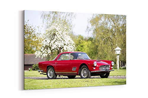 1962 Maserati 3500 GTI Coupe Am101 Touring Classic - Canvas Wall Art Gallery Wrapped 40