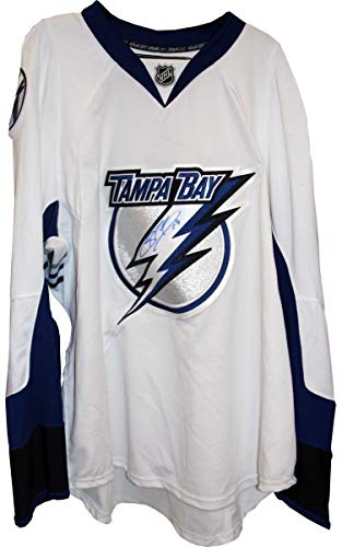 Richard Autographed Jersey - Brad Richards Autographed Tampa Bay Lightning Authentic White Reebok Jersey - Steiner Sports Certified