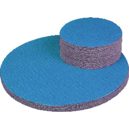 ?20 Blue Zirconia Alumina Cloth Sanding PSA Disc x No Hole-36 Grit