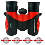 Binoculars for Kids by ivy Concepts -8X21 Compact for Bird Watching, Hunting, Wildlife, Science, Hiking, Outdoor Learning Mini Fun Toy, Birthday Present for Children, Toddlers, Boys & Girls (0.38 lbs) Review